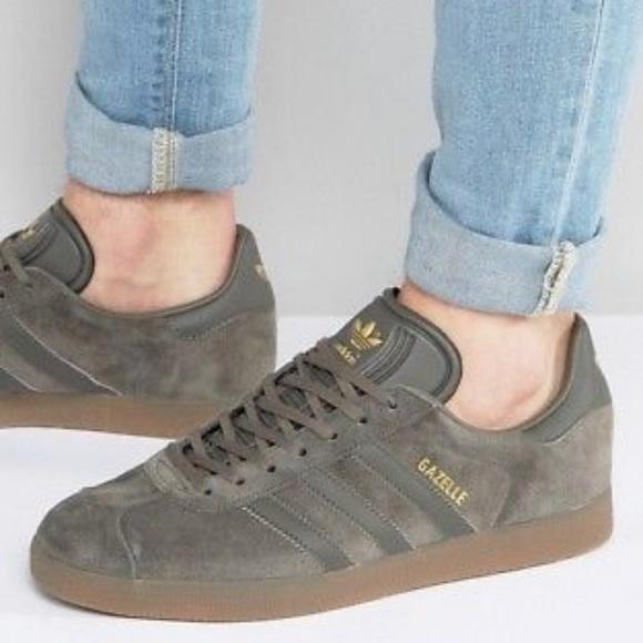 Motivazione Testardo incompleto  adidas Shoes   Adidas Originals Gazelle Utility Grey Suede   Poshmark